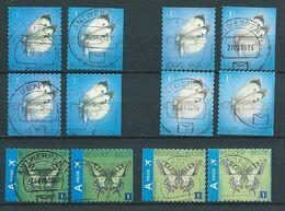 België OBP Nr:  4255 - 4256a - 1ste + 2de Uitgave - Gestempeld / Oblitéré - Vlinders - Belgique