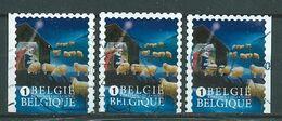 België OBP Nr. 4381 - 4381b Gestempeld / Oblitéré - Kerstmis En Nieuwjaar - Belgique