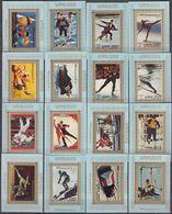 Ajman 31.03.1973 BLUE PERF EDL Mi # 2717-32 1972 Munich Summer Olympics MNH OG - Verano 1972: Munich