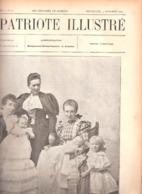 La Maison De Flandre -3 Générations-Mgr Du Roussaux-Tournai-La Révolte Aux Indes-Vilvorde-Le Patriote Illustré 3/10/1897 - Livres, BD, Revues