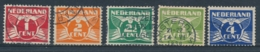 Nederland/Netherlands/Pays Bas/Niederlande 1924 Mi: 146A-150A Yt: 133-137 Nvph: 144-148 (Gebr/used/obl/o)(5237) - Oblitérés