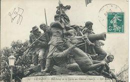 Le Mans (72) - Bas Relief De La Statue Du Général Chanzy - 1909 - Le Mans