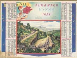 Calendrier  Ptt      1958     Tour De France - Grossformat : 1941-60