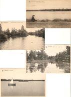 Arendonck / Arendonk : Meer / Vijver / Le Lac / Hooge Heide ---- 4 Kaarten - Arendonk