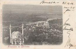 OLD POSTCARD - TURCHIA - TURKEY - SOUVENIR DE BROUSSE  - VIAGGIATA 1902 - P27 - Türkei