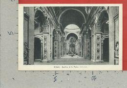 CARTOLINA NV ITALIA - ROMA - Basilica Di S. Pietro - Interno - 9 X 14 - San Pietro