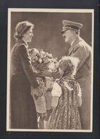 Dt. Reich AK Hitler Deutscher Frühling 1943 Görlitz Nach Bergen-Enkheim - Brieven En Documenten