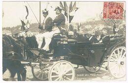 GENOVA 1906 Arrivo Del Presidente Forrer - Real Photo - Genova