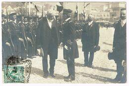 GENOVA 1906 Presidente Forrer+Miistro Miraballo - Real Photo - Genova