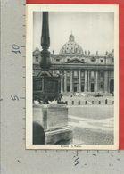 CARTOLINA NV ITALIA - ROMA - San Pietro - 9 X 14 - San Pietro