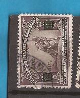 KR-1  1922  165 A  JUGOSLAVIJA JUGOSLAWIEN  OVERPRINT GRUEN  USED - Oblitérés