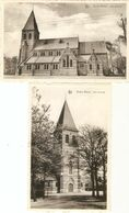Baelen / Balen / Baelen-Wezel : Kerk St-Jozef --- 2 Kaarten - Balen