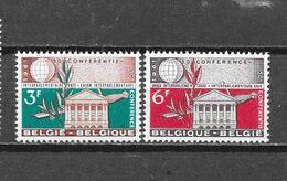 België 1961Y&T Nr° 1191/92 (**) - Unused Stamps