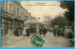 61 -  Orne - La Normandie St Jean Blanc Le Bourg Un Jour De Marche (N1169) - Altri Comuni