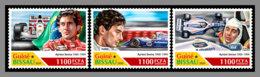 GUINEA BISSAU 2020 MNH Ayrton Senna Formula 1 Formel 1 Formule 1 4v - OFFICIAL ISSUE - DHQ2029 - Cars