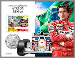 GUINEA BISSAU 2020 MNH Ayrton Senna Formula 1 Formel 1 Formule 1 S/S - IMPERFORATED - DHQ2029 - Cars