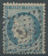 Lot N°57209   N°37, Oblit Losange ANCRE, Signé BRUN - 1870 Siège De Paris