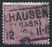 ALLEMAGNE 1875:  Le Y&T 43a,  TB Obl. CAD Linéaire De Mulhouse (Alsace) Bonne Cote - Used Stamps