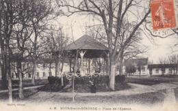 BOURG SUR GIRONDE - GIRONDE -  (33)  -  PEU COURANTE CPA ANIMÉE DE 1916.. - Frankreich