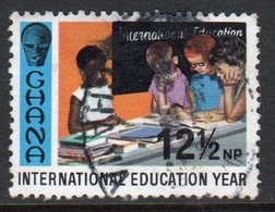 Ghana 1970  Single 12½np  International Education Year Fine Used Commemorative Stamp. - Ghana (1957-...)
