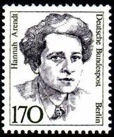GERMAN Berlin - Scott #9N526 Hannah Arendt , Philosopher And Political Theorist / Mint NH Stamp - Nuevos