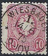 ALLEMAGNE 1875:  Le Y&T 32,  Superbe Obl. CAD Wiesbaden Du 4.6.75 - Gebruikt