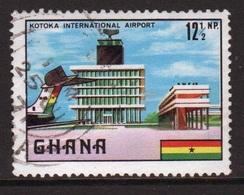 Ghana 1970  Single 12½np  Kotoka Airport Fine Used Commemorative Stamp. - Ghana (1957-...)