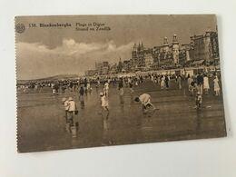 Carte Postale Ancienne (1932) BLANKENBERGHE Plage Et Digue - Strand En Zeedijk - Blankenberge