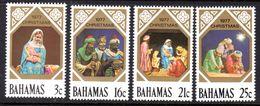 BAHAMAS - 1977 CHRISTMAS SET (4V) FINE MNH ** SG 505-508 - Bahamas (1973-...)