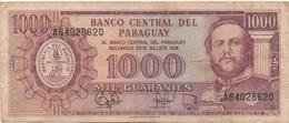 Paraguay : 1000 Guaranies 1952 En Mauvais état - Paraguay