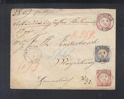 Dt. Reich Umschlag Mit ZuF 1873 Altreetz - Germania
