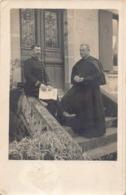 CHALONVILLARS - Carte Photo De 1915 Du Curé VINCENT Et Son Premier Vicaire ( Voir Texte Au Dos ) - France