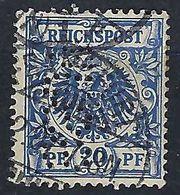 ALLEMAGNE 1889:  Le Y&T 48 Perforé,  Obl. CAD - Germany