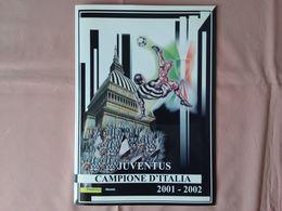 Folder Juventus Campione D'Italia 2001/02 - Completo Sottocosto + Spese Postali - Soccer