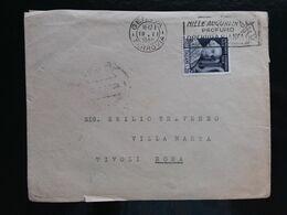 REPUBBLICA - Cimarosa 1949 Isolato Su Busta - Annullo Arrivo + Spese Postali - 6. 1946-.. Republic