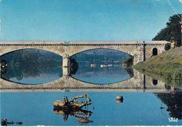 42 - Roanne - Bords De La Loire Et Le Pont De Chemin De Fer - Roanne