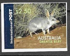 AUSTRALIA, 2020, MNH, FAUNA, GREATER BILBY, 1v SA - Stamps
