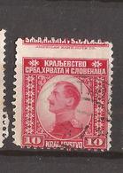 KR-1  1921 147  JUGOSLAVIJA JUGOSLAWIEN  KOENIG  ALEKSANDAR  USED - Oblitérés