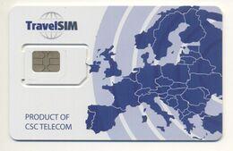 Unused Micro SIM Chip GSM Phone Card TravelSIM UKRAINE - Ukraine