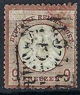 ALLEMAGNE 1872:  Le Y&T 24  Obl. CAD Linéaire Forte Cote - Germany