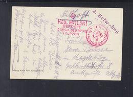 Dt. Reich Sudeten AK Schlaggenwald Horní Slavkov Feldpost 1938 Königsberg Nach Magdeburg - Brieven En Documenten