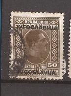KR-1  1933  258    JUGOSLAVIJA JUGOSLAWIEN  KOENIG  ALEKSANDAR  USED - Oblitérés