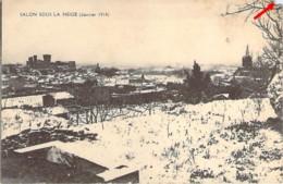 13 Bouches Du Rhône Salon Sous La Neige En Janvier 1914 - Salon De Provence