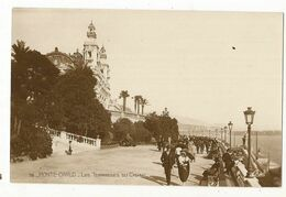 CPA ,Monaco , N°76 ,Terrasse Du Casino   ,Animée , Ed. CAP - Terrassen