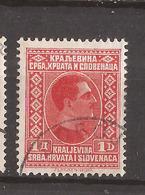 KR-1  1926  190   JUGOSLAVIJA JUGOSLAWIEN  KOENIG  ALEKSANDAR  USED - Oblitérés