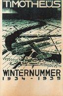 DC2277 - WW2 Germany Propaganda Postcard -Timotheüs Winternummer 1934 1935 REPRO - Guerre 1939-45