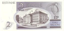 ESTONIA P. 70a 2 K 1992 UNC - Estonia