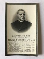 1911 E.H. DE VOS Huisleraar Families Van Outryve D'Ydewallede Ruddervoorde De Bethune Marke Torhout - Andachtsbilder