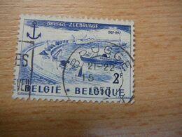 (26.07) BELGIE 1957 Nr 1019  Met Mooie Afstempeling BRUGGE - Bélgica