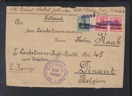 Dt. Reich Besetzung Belgien Abschnitt Brüssel Nach Dinant - Bezetting 1914-18